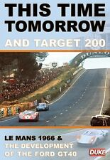 This Time Tomorrow & Target 200 (New DVD) Le Mans 1966 / Ford GT40 Development