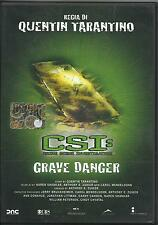 CSI. Crime Scene Investigation. Grave Danger (2005) DVD