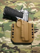 "Coyote Tan Kydex Holster Traditional 4.25"" 1911"