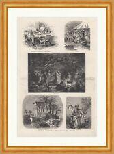 Kronprinz Rudolf von Oesterreichs Prachtwerk Orientreise K&K Holzstich E 18088