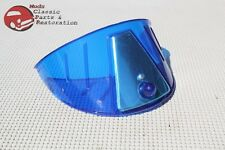 "Motorcycle Headlight Blue Visor Shield 7"" Indian Hog Chopper Harley Yamaha Honda"
