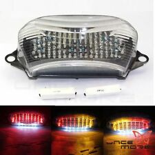EURO Clear LED Tail Light Turn Signal Lamp For Honda 98-05 VTR1000F SuperHawk