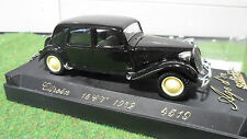 CITROËN 15 CV 1952 TRACTION 1/43 AGE D'OR d SOLIDO FRANCE 4519 voiture miniature
