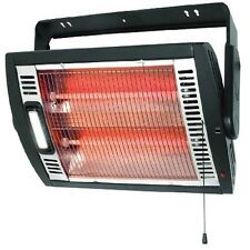 Portable Space Heater Infrared Electric Garage Furnaces Warmer Fireplace Mount