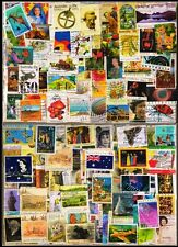 Australia 200 All Different Large Used Thematic Genuine Postage Stamps