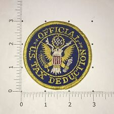 Official US Tax Deduction Patch