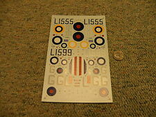 Classic Airframes decals 1/48 Kit# 460 Hawker Hurricane I   L96