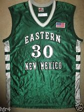 Garland Coleman Eastern New Mexico Basketball ENMU Rawlings Game Worn Jersey 48