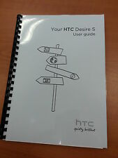 HTC DESIRE S FULL PRINTED USER MANUAL GUIDE 208 PAGES A5
