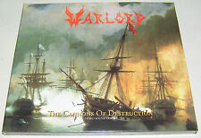 WARLORD Cannons of Destruction DIGIPACK CD 2016 500 handnumbered copies