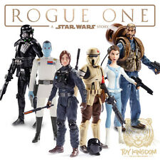"STAR WARS ROGUE ONE 3.75"" FIGURE SET OF 6 - WAVE 3: Leia/Erso/Thrawn/Rook/Scarif"