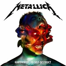 METALLICA - HARDWIRED TO SELF DESTRUCT 2 CD ALBUM NEW (18TH NOV)