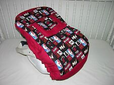 NEW INFANT CAR SEAT CARRIER COVER W/ MIAMI HEAT FABRIC