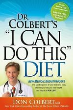 DR COLBERT'S I CAN DO THIS DIET weight loss diet body brain chemistry book NEW