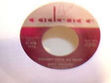 Andy Williams Lips of Wine & Straight From My Heart  Cadence Records 1336