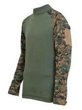 Tru-Spec Tactical Response Combat Shirt Woodland Digital/OD XL-Regular 2559006