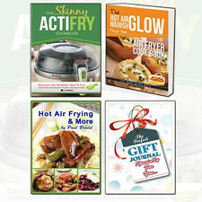 Hot Air Frying & More Skinny ActiFry Cookbook3 Books Collection With GiftJournal