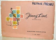 Jenny Lind Candies Empty BOX Miniature Chocolates Toronto Canada 1930s