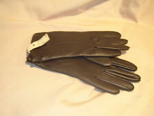 VTG Size B Gloves Deep Brown Sold By Two Guys Department Store