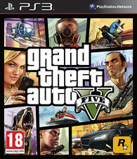 Grand Theft Auto V (5) ~ PS3 (in Great Condition)