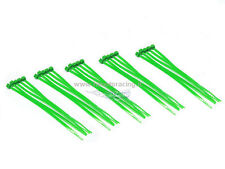 FASCETTE CABLAGGIO PLASTICA NYLON COLORATE VERDE CABLE TIES 25 PZ 100 mm HIMOTO