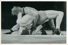 Kristjan Palusalu Estonia Kurt Hornfischer Germany Wrestling OLYMPIC GAMES 1936