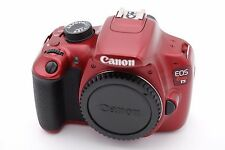 Canon EOS Rebel T5 / EOS 1200D 18.0MP Digital SLR Camera - Red (Body Only)