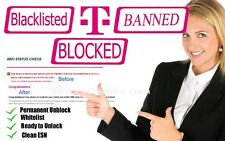 IMEI REPAIR-UNBLOCK USA T-Mobile IPHONE 5/6/7 - CLEAN BLACKLIST, REMOVE BARRED