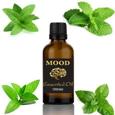 Peppermint Essential Oil 100% Natural 100ml Aromatherapy FREE UK P&P