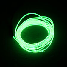1-5M Flash Flexible Neon LED Light Glow EL Strip Tube Wire Rope Car Party Light