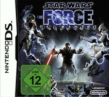 Star Wars: The Force Unleashed (Nintendo DS, 2008) Komplett in Deutsch