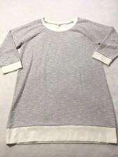 Victoria's Secret XL Extra Large White Silver Sparkle Textured Tunic Dress