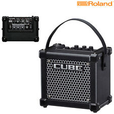 Roland Micro Cube GX M Cube Battery Powered Guitar Amplifier l Authorized Dealer