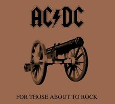 AC/DC - For Those About To Rock - 180gram Vinyl LP *NEW & SEALED*