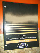 2010 FORD SUPERDUTY 6.4L DIESEL POWERTRAIN EMISSIONS DIAGNOSIS SERVICE MANUAL