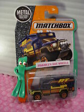 2016 Matchbox MBX PROSPECTOR #122☆blue; yellow/orange/gold off-road☆☆ case J