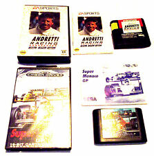 LOT CAR RACING SEGA MEGA DRIVE GAMES RARE SUIT COLLECTOR OZISOFT GENESIS +F.P!