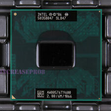 Intel Core 2 Duo T9600 SLB47 SLG9F CPU Processor 1066 MHz 2.8 GHz