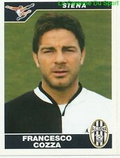 FRANCESCO COZZA ITALIA AC.SIENA RARE UPDATE STICKER CALCIATORI 2005 PANINI