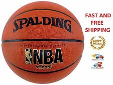 Basketball Spalding NBA Street Official Size 7 Indoor Outdoor Game Leather Ball