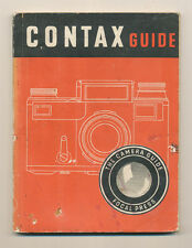 "W.D.Emanuel ""Contax Guide"" 1946 in inglese Ed.The Focal Press D801"