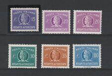 FRANCOBOLLI 1947/77 REPUBBLICA REC. AUTORIZZATO MNH Z/4052