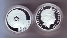 2001 Silver $5 Proof Coin Federation Ladies Organising Committee Bathurst Master