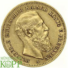 Z903) J.248 PREUSSEN 20 Mark 1888 A - Friedrich III. 1888 - Gold