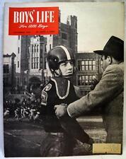 BOYS LIFE MAGAZINE NOVEMBER 1949 BOY SCOUTS OF AMERICA - HIGH SCHOOL FOOTBALL