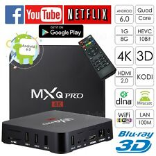 MXQ PRO 4K Android 6.0 TV Box Quad Core 1GB/8GB Kodi Smart TV Media Player