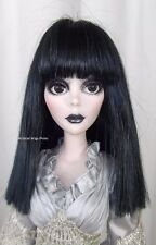 Wig for Evangeline Ghastly. sz 6/7 .  YURI  WIG .  Black . HOT Style!  *