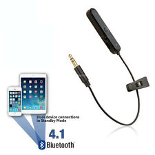 Coche Adaptador Bluetooth MP3 Inalámbrico Convertidor Iphone/Ipod/Ipad Aux Cable