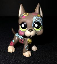 Littlest Pet Shop 1439 Great Dane Puppy Dog Tattoo Postcard Accessories Fairy