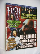 FLASH METAL MAGAZINE #139 - ROB HALFORD - AFTER FOREVER - DIMEBAG DARRELL